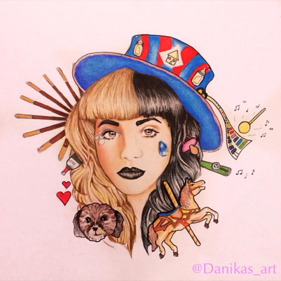 Some Fanart Of Super Cutie Melanie Martinez! It Took Me About A Thousand  And One