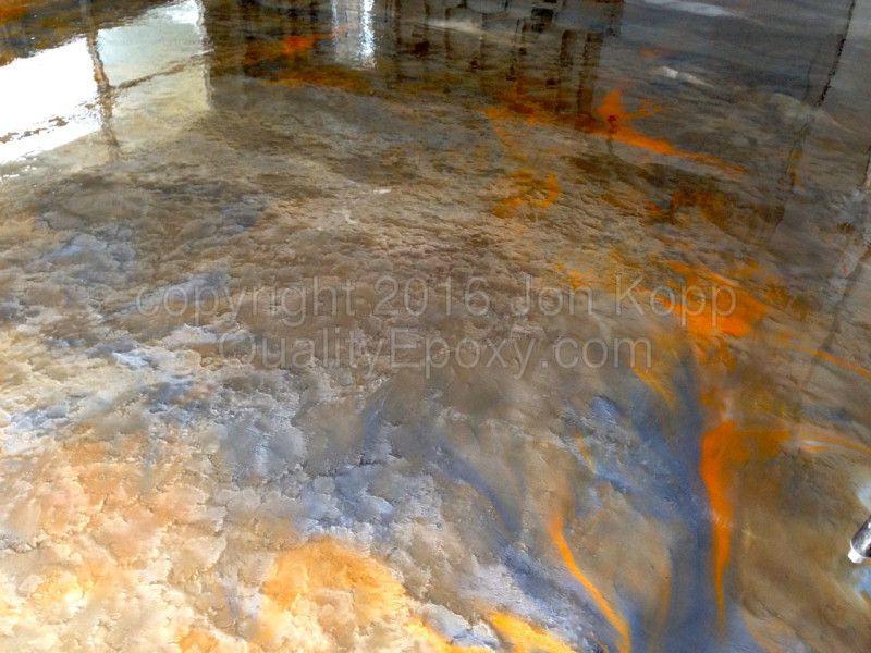 chip and metallic epoxy floor coating company quality epoxy in arizona
