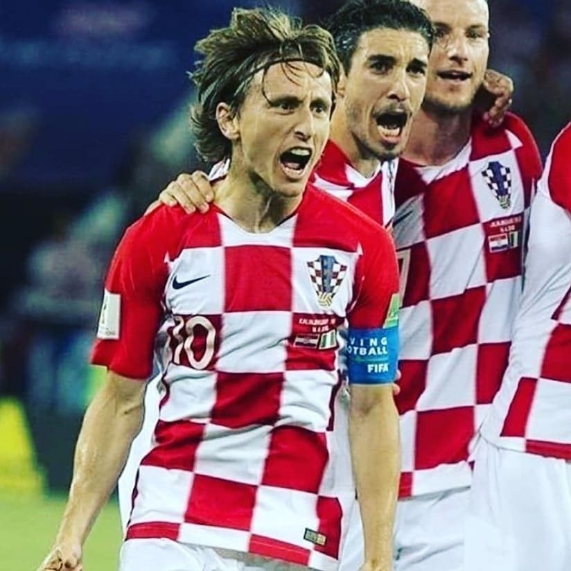 Croatia beat Nigeria in their First Game an now sit
