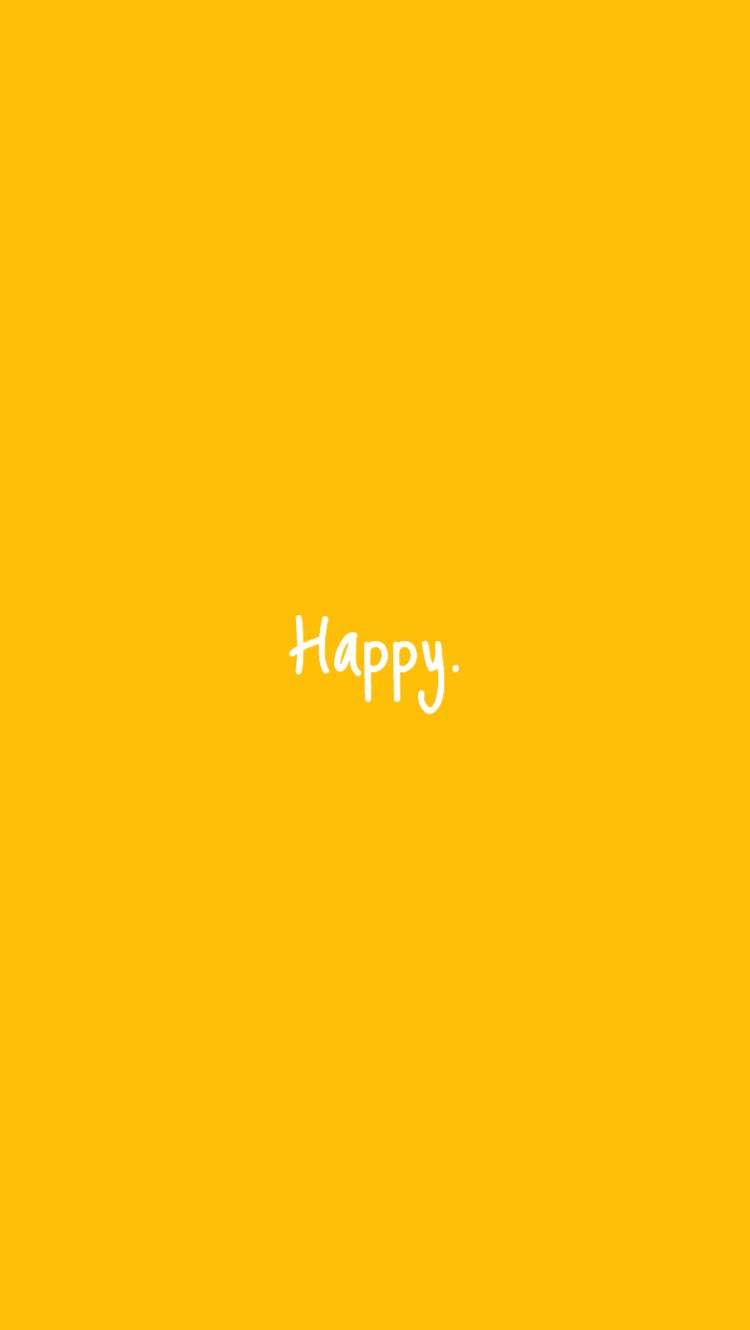 Happy.   (Follow my board for more such edits!! )    #happy #bekind #kindness #yellow#aesthetic #yellowaesthetic