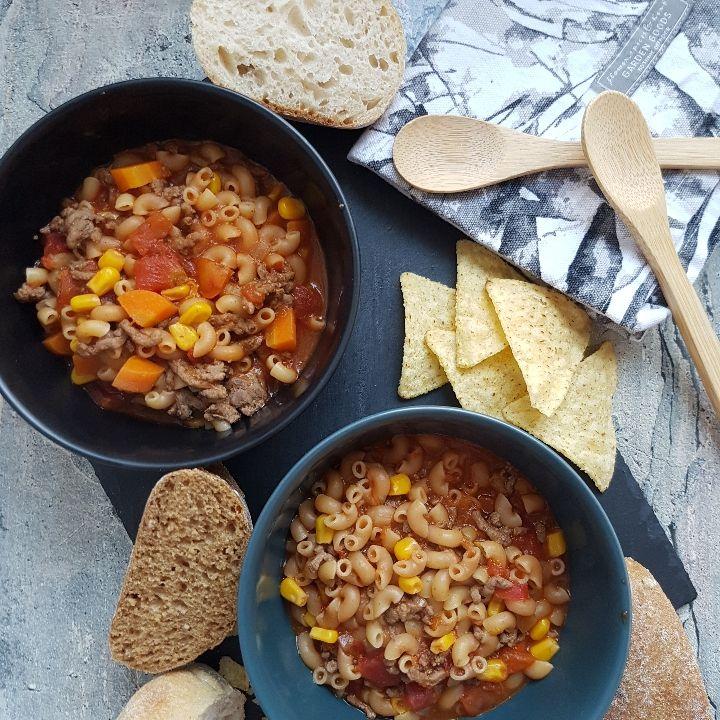 Salsasuppe med oksekød. Spicy og lækker suppe. – #Hashtagmor #slankemadopskrifter