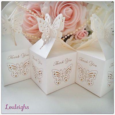 Laser Cut Wedding Favour Box 'New Design'