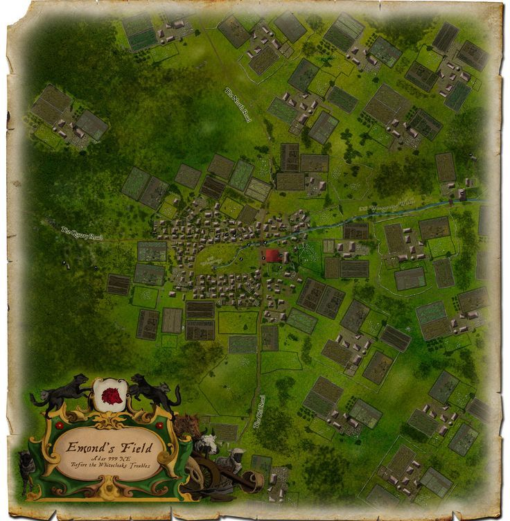 Image result for map of emonds field wheel of time