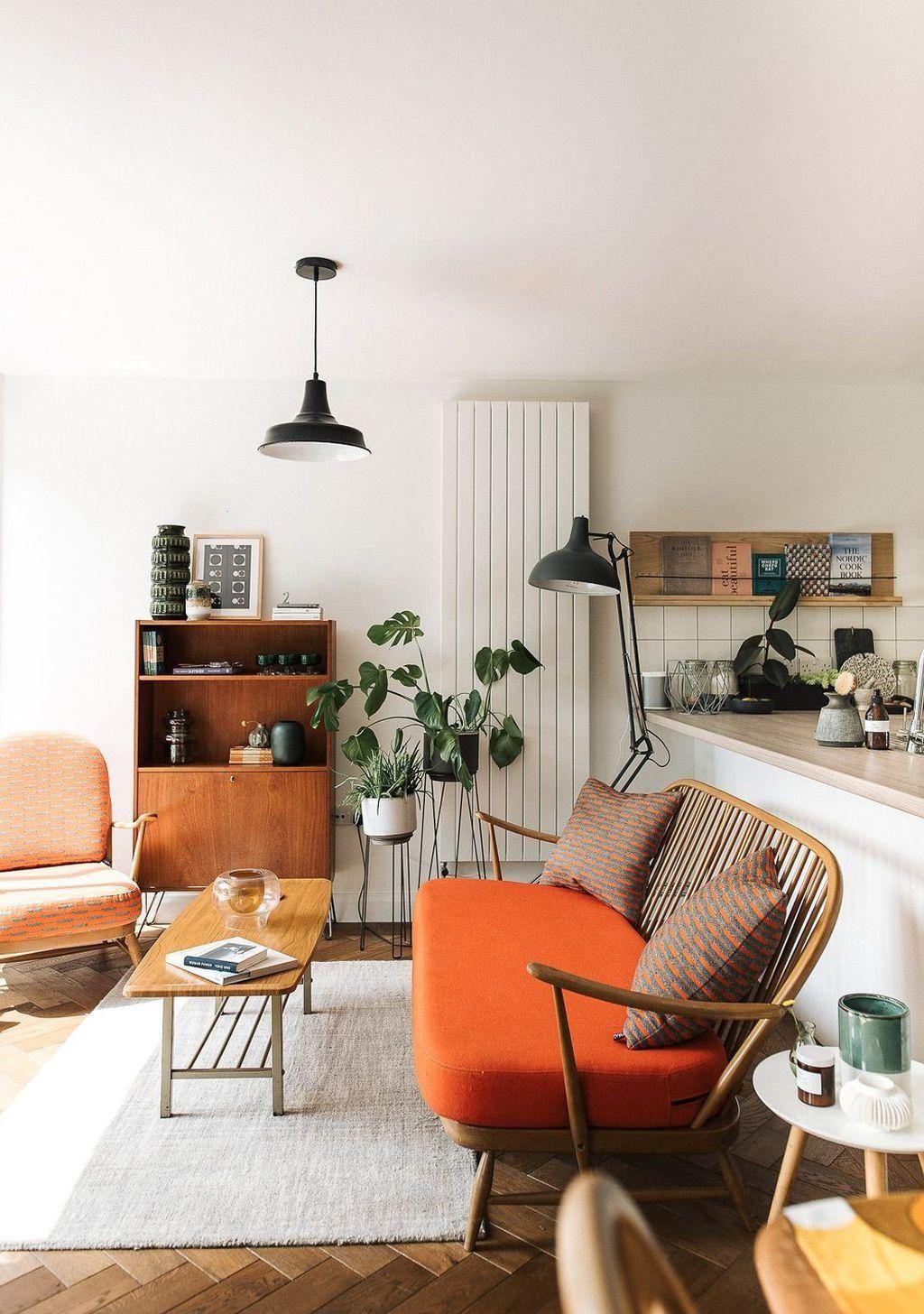 47 Amazing Mid Century Modern Home Decor Desain Interior Ide Dekorasi Rumah Dekorasi Rumah Elegan