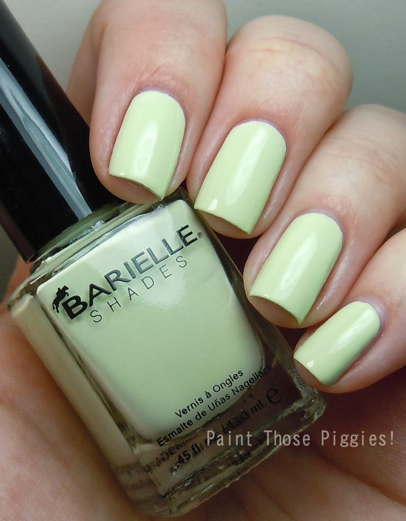 OPI Barielle Mint Ice Cream Cone by Paint Those Piggies! | Nail ...