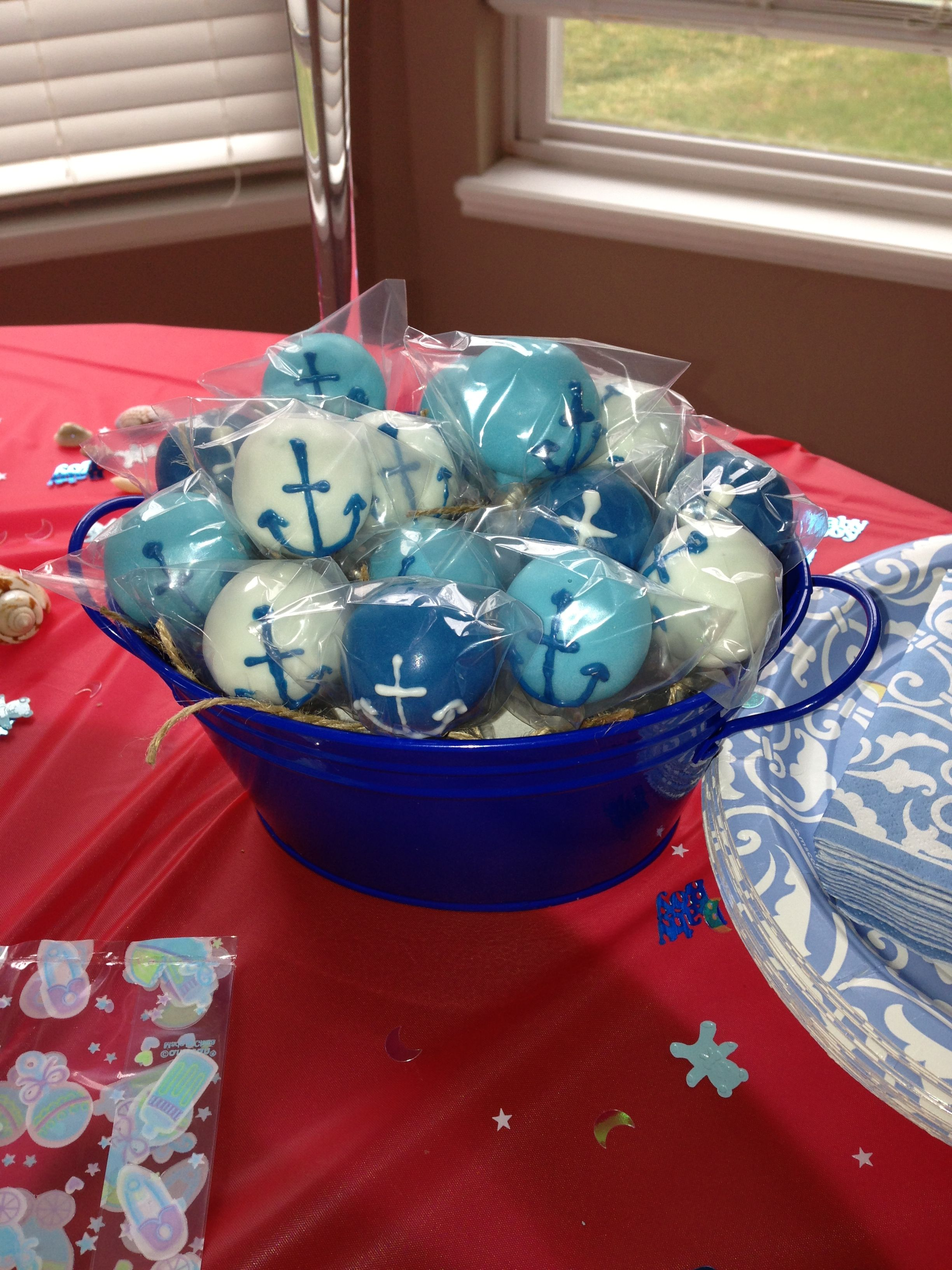 Gmail blue theme - Nautical Theme Cakepops Created By C R Pops Columbus Ohio Crpops12 Gmail