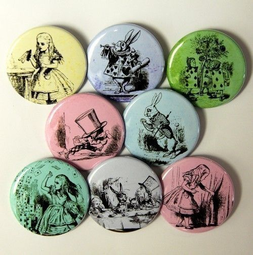 8 CLASSIC ROSES Buttons Pinbacks Badges 1 inch