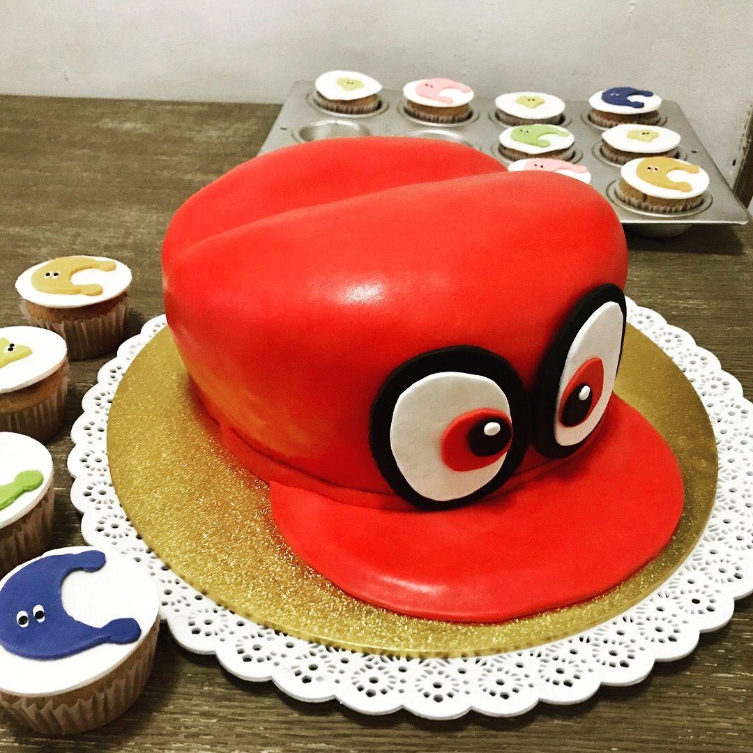mario odyssey cappy cake