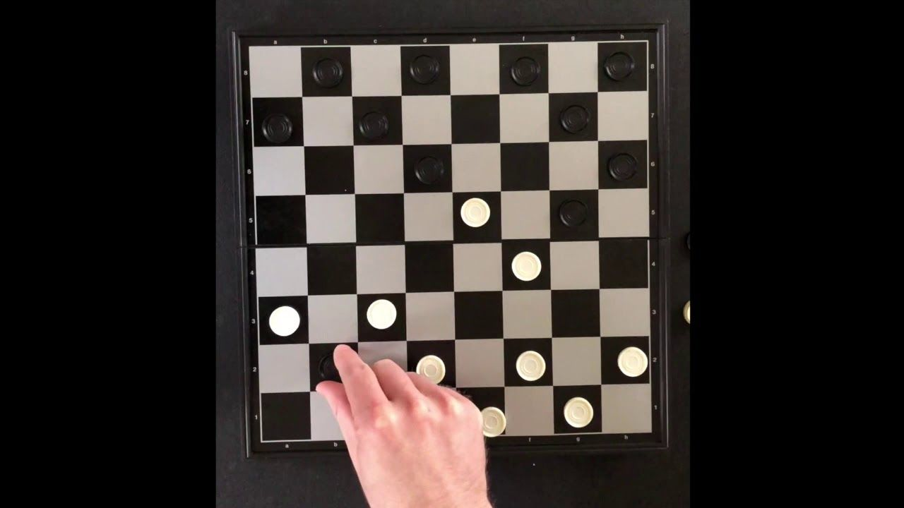 How To Play Checkers Youtube Play Checkers Family Card Games Checkers