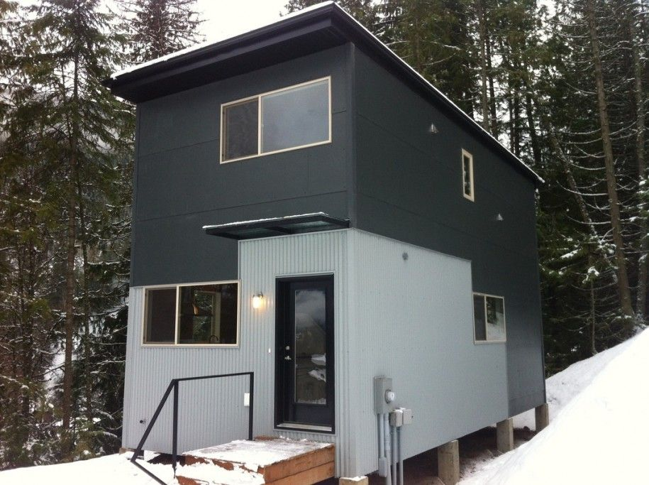 Installing The Corrugated Metal Siding Smply Mod Prefab