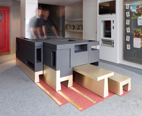 Puzzle-like furniture