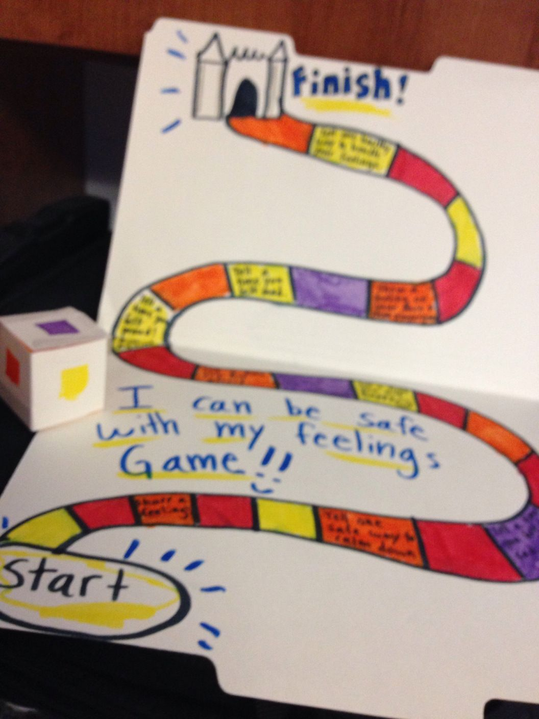 Social Emotional Board Game Take Home Activity