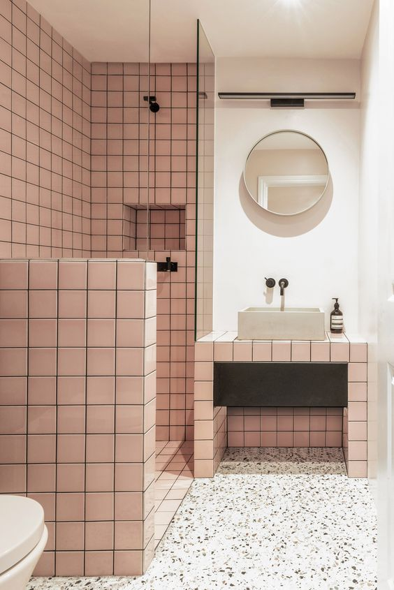 12 Unique Bathrooms For The Daring Decorator Banos De Colores