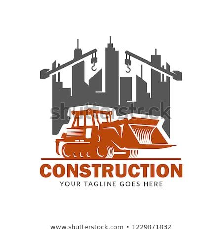 construction logo template suitable for construction company brand