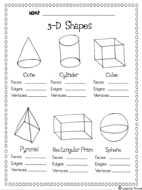 Mrs Prince And Co Freebie As Promised Teaching Math Shapes Worksheet Kindergarten Geometry Worksheets