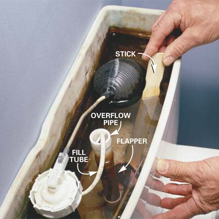 How To Fix A Running Toilet Toilet Repair Handyman Projects