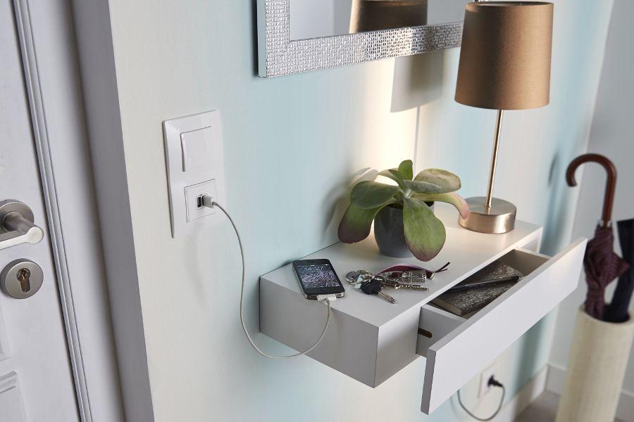 Castorama vide-poches Monge home Pinterest Jjs house, Consoles - meuble vide poche design
