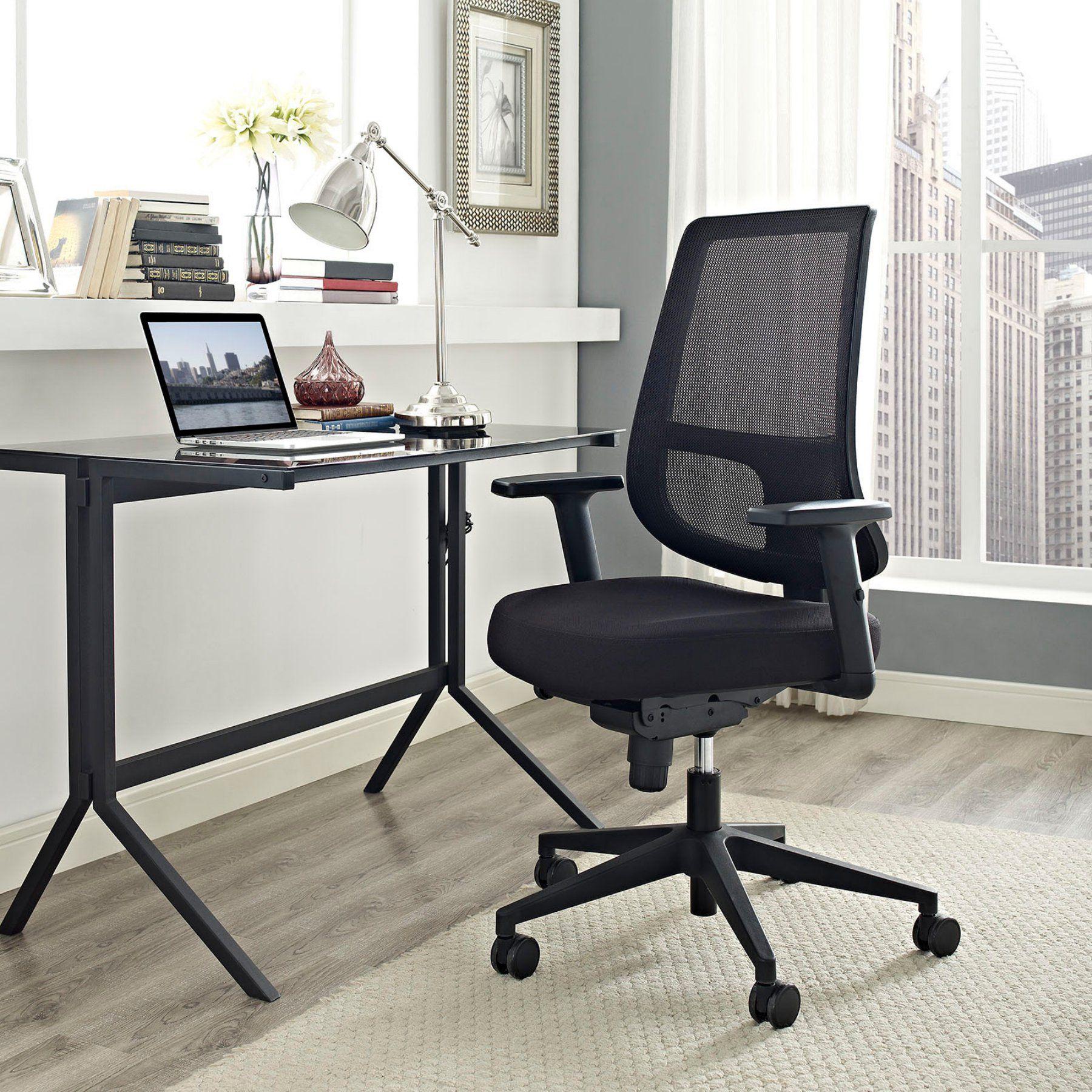 lexmod focus edge desk chair x1 modway pump office white products pinterest mesh eei 2215 blk