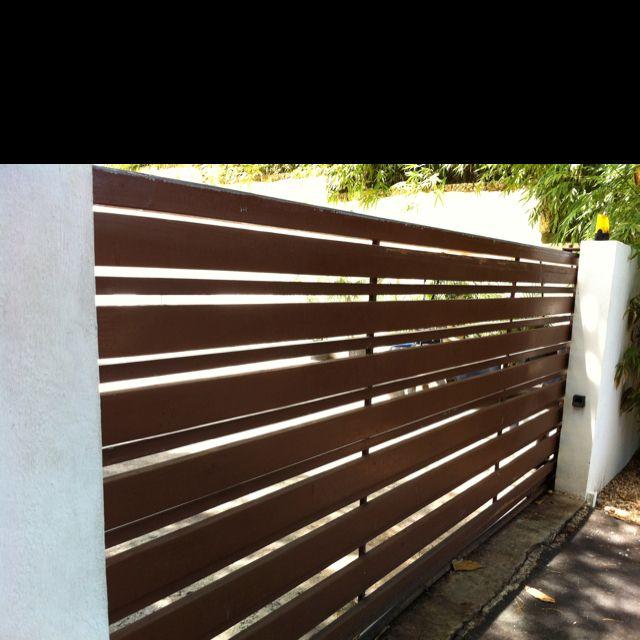 Fence Ideas Casa De Campo Garden Gates And Fencing Front Gate Design Modern Fence