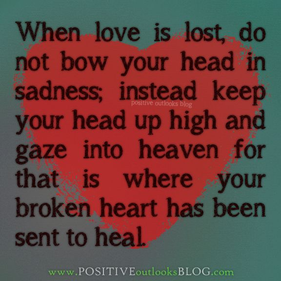 what to do when love is lost