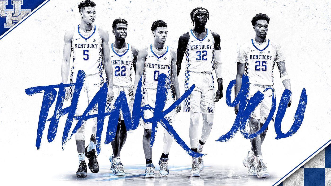 Kentucky Men S Basketball Social Media On Behance Uk Wildcats Basketball Kentucky Wildcats Kentucky