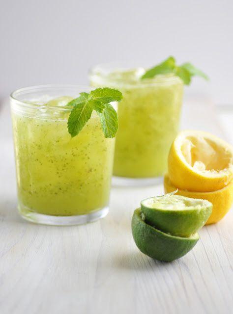 Anja's Food 4 Thought: Cucumber Lemon Cooler