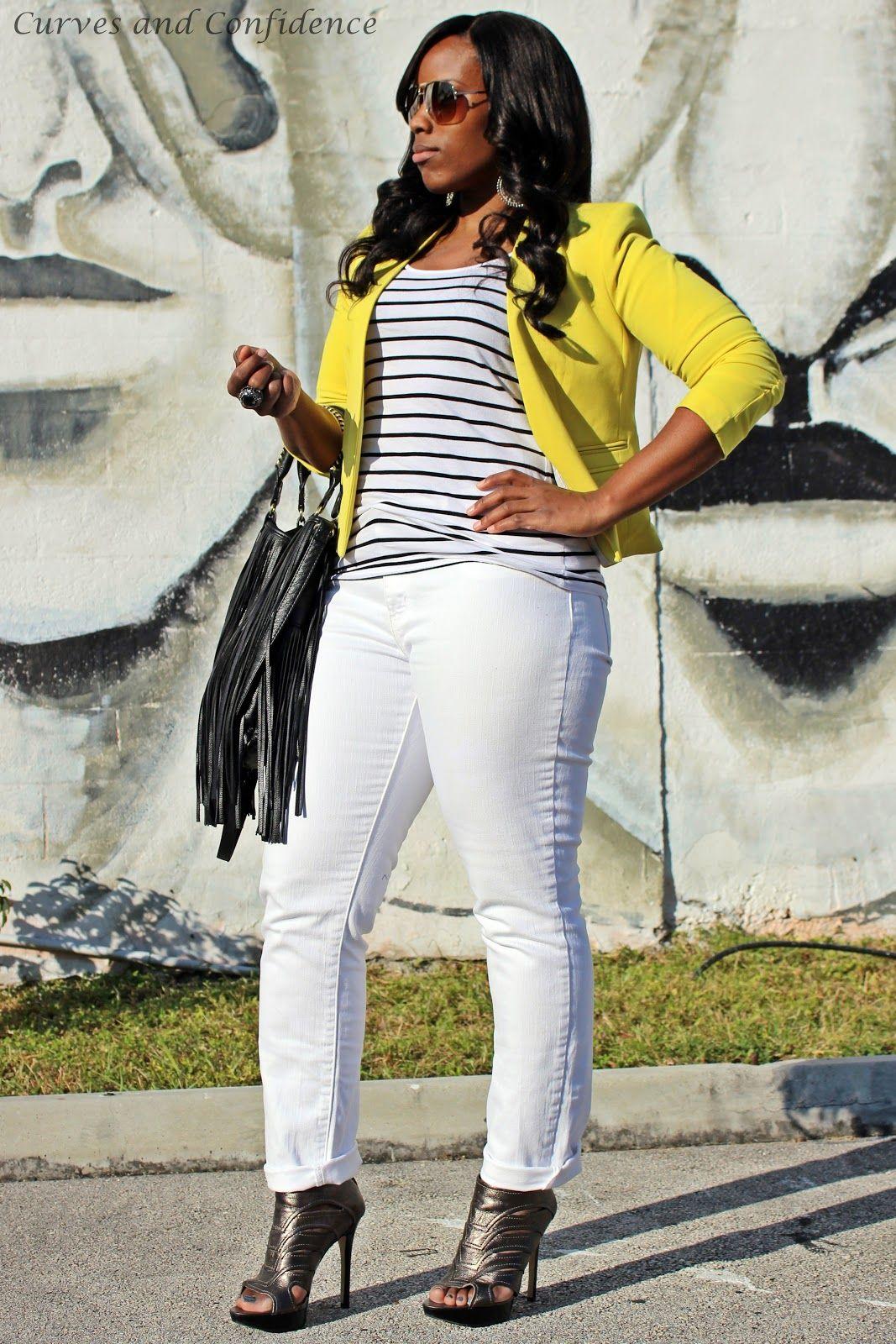 yellow and black and white attire - Google Search | Fashion ...