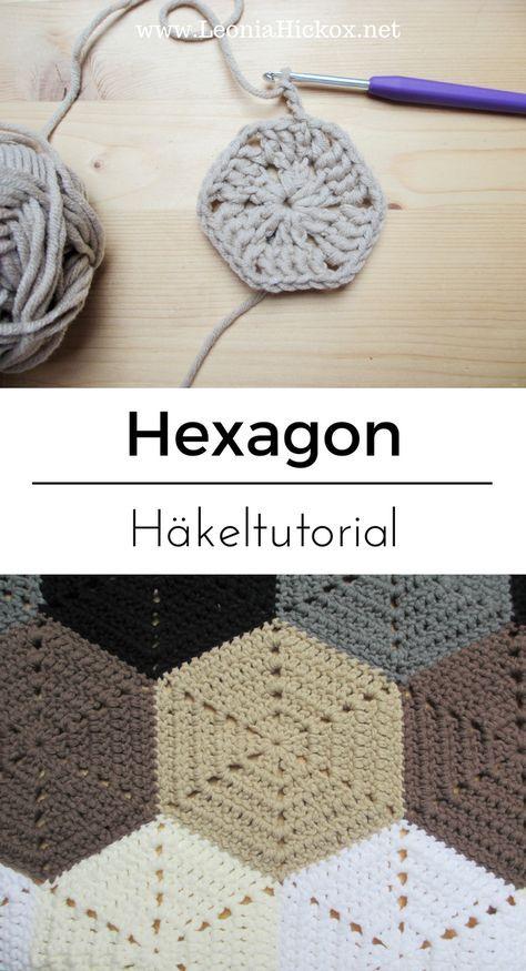 Photo of Tutorial > Sechseck häkeln // How to: Hexagon
