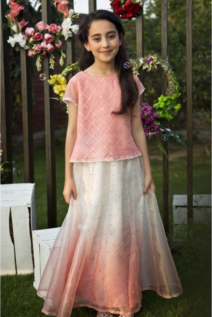 0b63b72c168b89 Maria B Fancy Kids Dresses Designs 2018-19 Collection for Girls ...