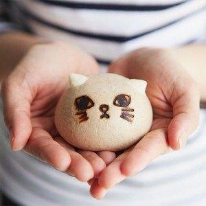 News 猫の形のスウィーツまん ニャムチャ が フェリシモ猫部 からデビュー お菓子タイムズ スウィーツ お菓子 菓子