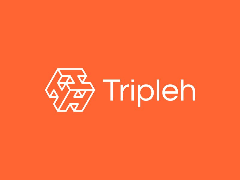 Tripleh Logo B Learning Logo Logo Inspiration Logo Design