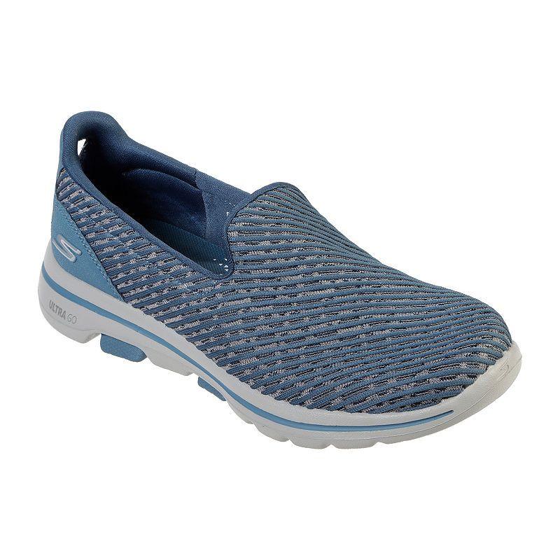Skechers Go Walk Lite 5 Womens Sneakers Slip On In 2019 Skechers Walking Shoes Shoes