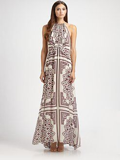 Derek Lam - Silk Paisley Dress