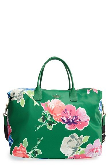 e2de4589ea kate spade new york  classic nylon - lyla  floral tote available at   Nordstrom