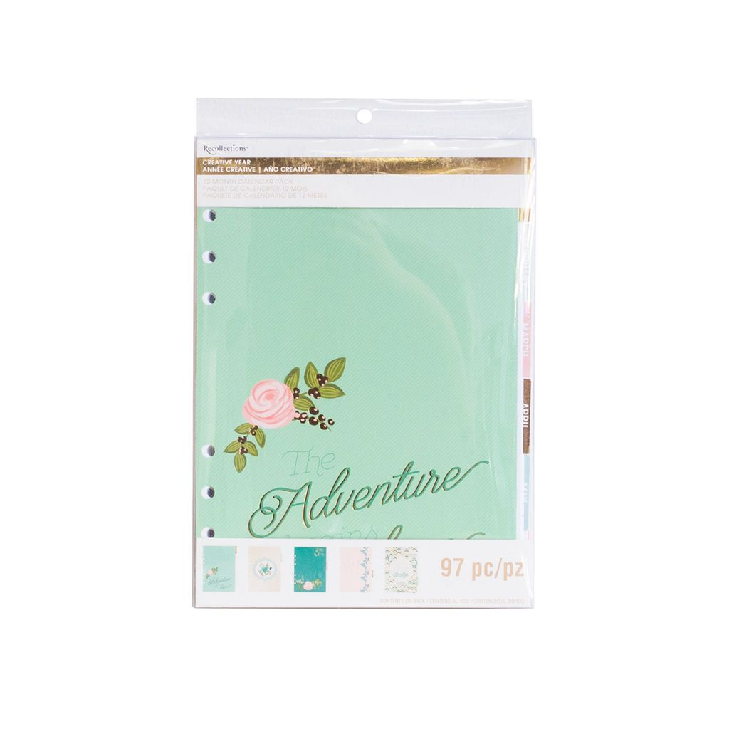 Creative Year Honeydew Calendar Pack by Recollections™ Wedding