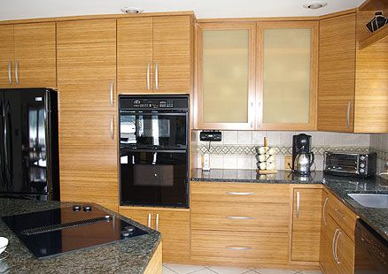 Bamboo Kitchen Cabinets Are Strong Durable And Eco Friendly The Kitchen Blog Bamboo Kitchen Cabinets Kitchen Cabinets Home Depot Custom Kitchen Cabinets