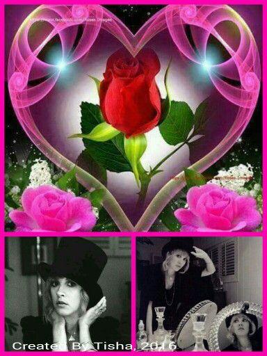 Stevie Nicks Collage Created By Tisha 06/03/16