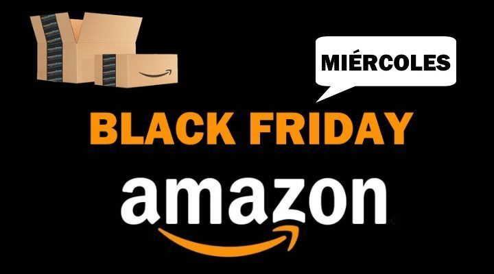 de95e119c64 Semana del Black Friday en Amazon! Mejores ofertas del miércoles 21 de  noviembre