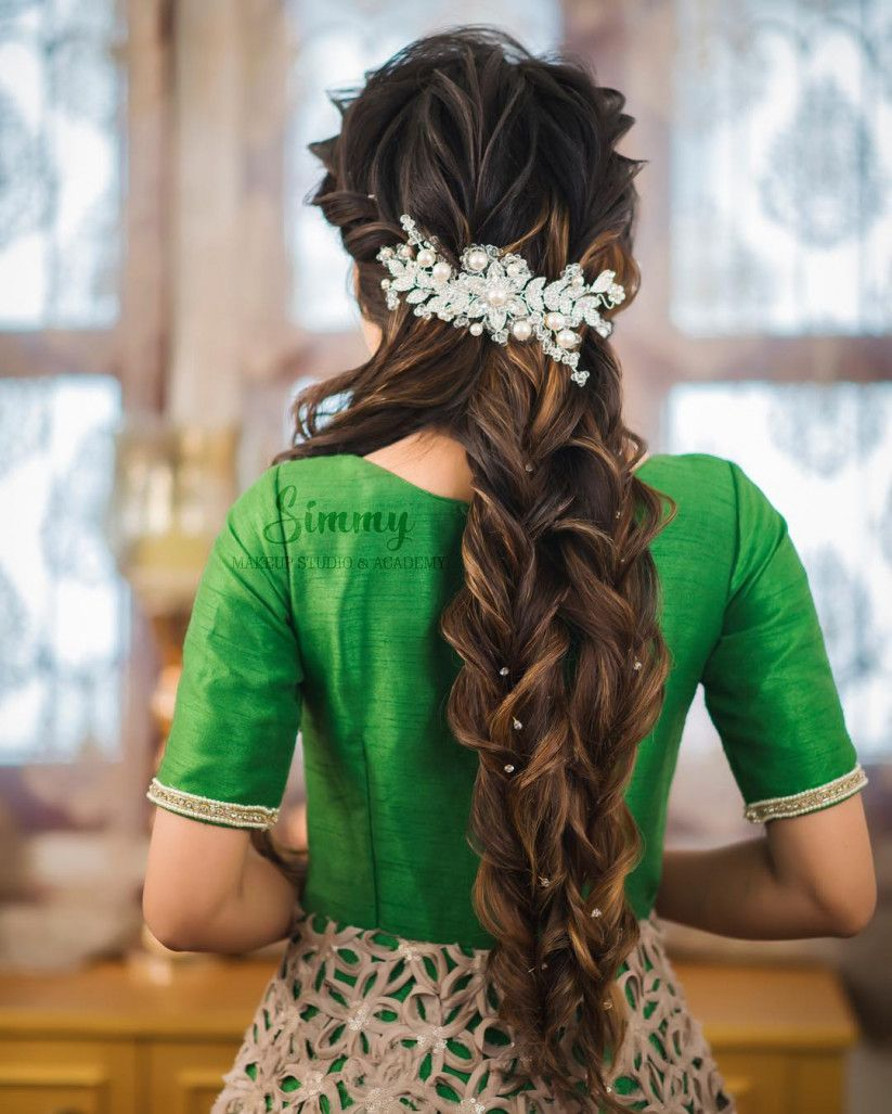 A Step by Step Guide of 5 Stunning Hairstyle for Marriage Function for Every Bride to See ...