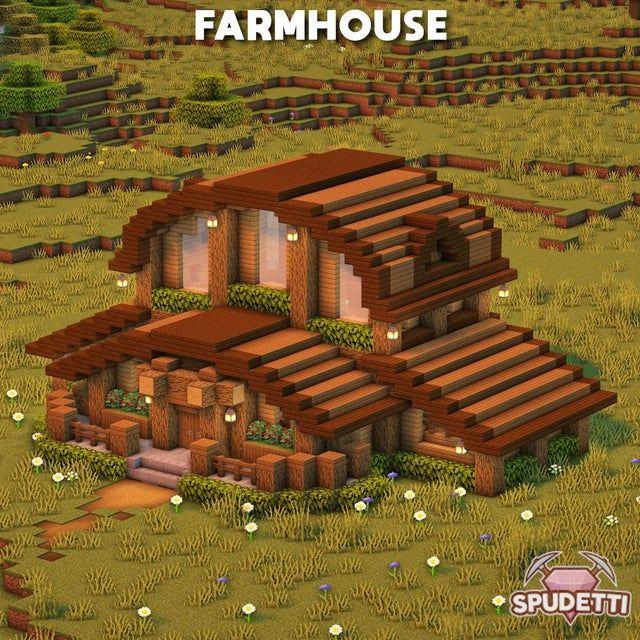 A farmhouse that I built