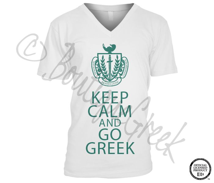 NPC Keep Calm Tee    wantsobaddd