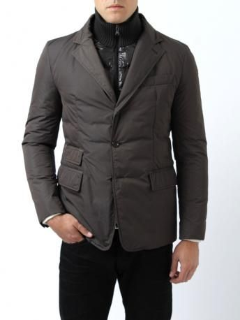 420717012 Moncler Jacket - Moncler Argentre - brown (color code 925) - Nylon ...