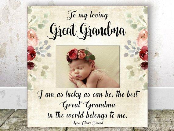 Great Grandma CHRISTMAS Gift Great Grandma Birthday Gift Great ...