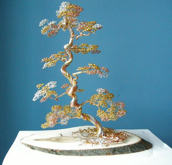 Wire Bonsai Wire Tree SculptureInformal upright Bonsai ...