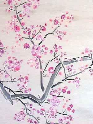 How To Draw Chinese Art Cherry Blossom Art Cherry Blossom Season Tree Drawing