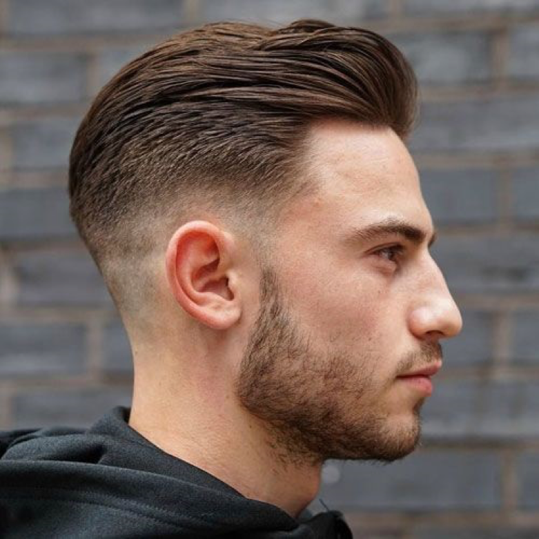 Bound For Style Faded Hair Mens Hairstyles Short Haircuts For Men