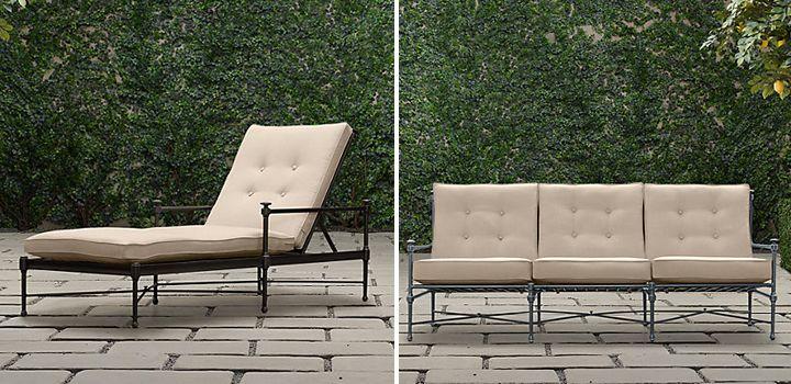 Outdoor furniture hardware