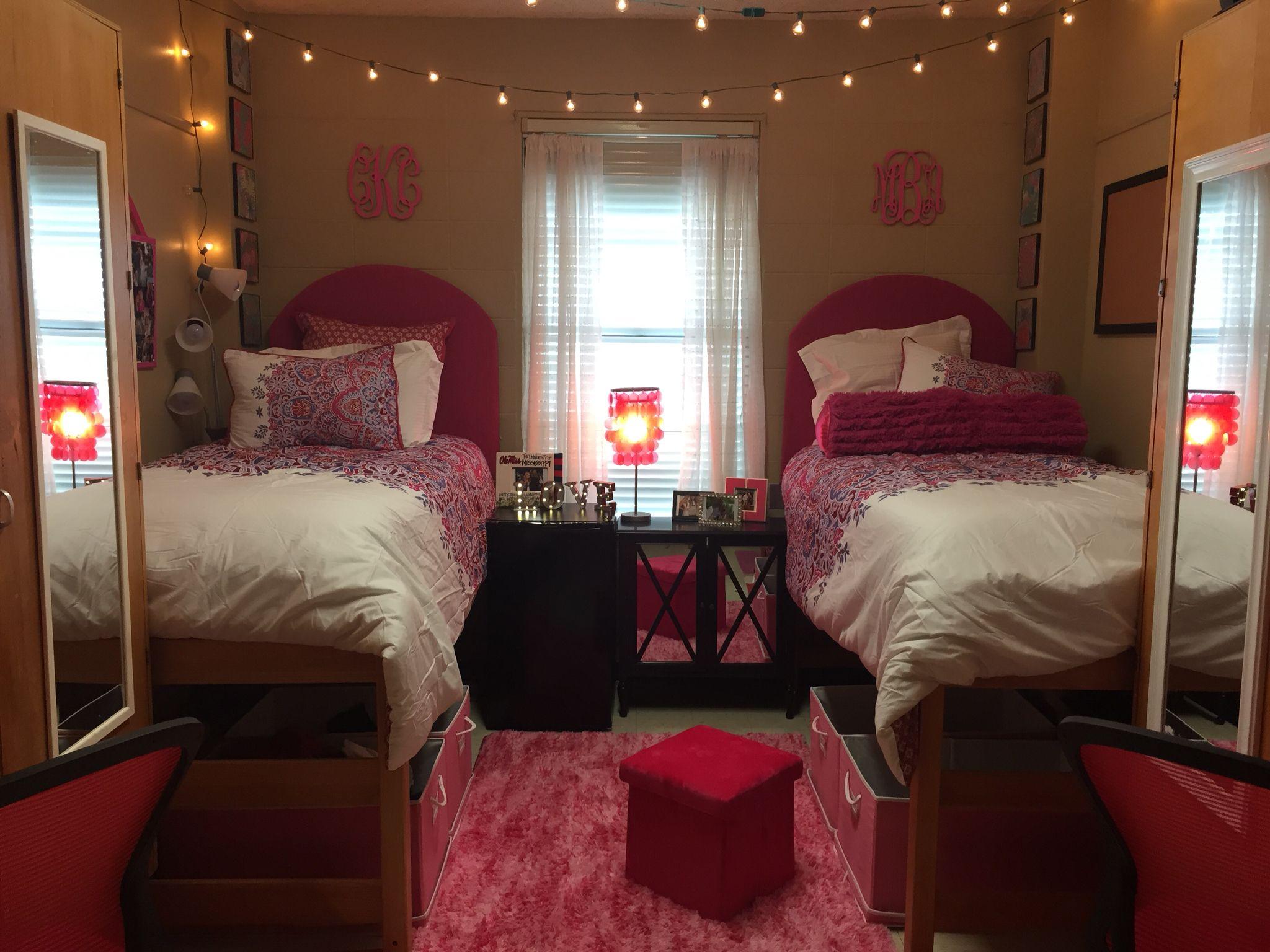 Ole Miss Crosby Dorm room Sooo cute Ole Miss Pinterest