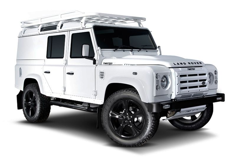 Watch How Twisted Build Their Custom Land Rover Defenders Land Rover Defender Land Rover Defender