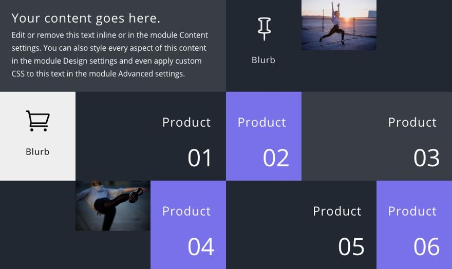 How To Extend Modules To Create Unique Column Layouts In Divi Layout Column Unique Layout